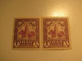 2 Iraq Unused  Stamp(s)