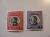 2 Jordan Unused  Stamp(s)