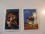 2 Libya Unused  Stamp(s)