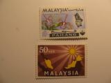 2 Malaysia Unused  Stamp(s)