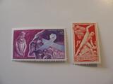 2 Monaco Unused  Stamp(s)
