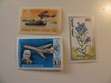 3 Mongolia Unused  Stamp(s)