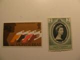 2 Monteserrat Unused  Stamp(s)