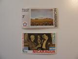 2 Nicaragua Unused  Stamp(s)