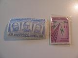 2 Paraguay Unused  Stamp(s)