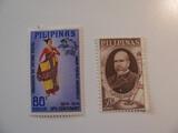 2 Philippines Unused  Stamp(s)