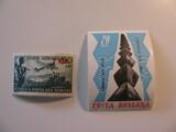 2 Romania Unused  Stamp(s)