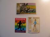 3 Rwanda Unused  Stamp(s)
