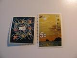 2 Ryuku Islands Unused  Stamp(s)