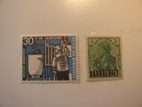 2 SAAR Unused  Stamp(s)