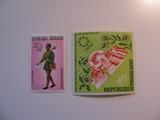 2 Togo Unused  Stamp(s)