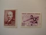 2 Turkey Unused  Stamp(s)