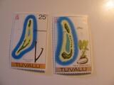 2 Tuvalu Unused  Stamp(s)