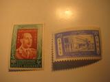 2 Afghanistan Unused  Stamp(s)