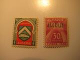 2 Algeria Unused  Stamp(s)