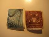 2 Austria Unused  Stamp(s)