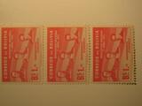 3 Bolivia Unused  Stamp(s)