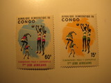 2 Congo Unused  Stamp(s)