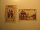 2 Dahomey Unused  Stamp(s)