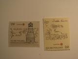 2 Finland Unused  Stamp(s)