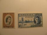 2 Grenada Unused  Stamp(s)