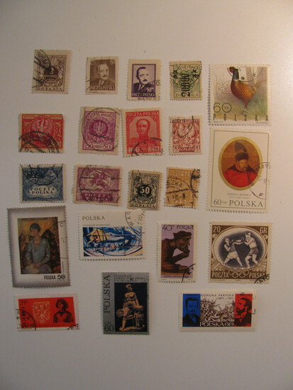Vintage stamps set of: Poland