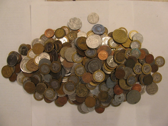 Wheat Pennies, Foreign Coins & Postcards