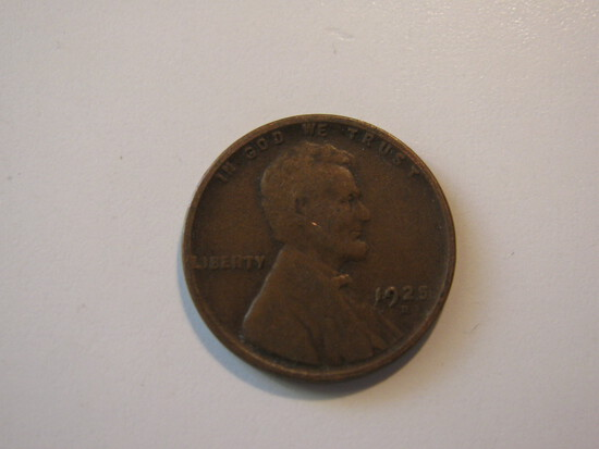 US Coins: 1x1925-D Wheat Penney