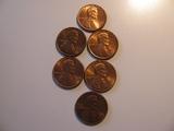 US Coins: 1x1978 & 81 + 2x1970-80 all -D BU/Clean  pennies