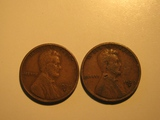 US Coins: 2x1929-S Wheat Pennies