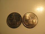 US Coins: 2xUNC 2000-P Maryland Quarters