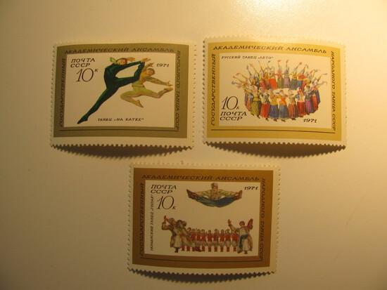 2 Russia / USSR Unused  Stamp(s)