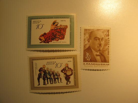 3 Russia / USSR Unused  Stamp(s)