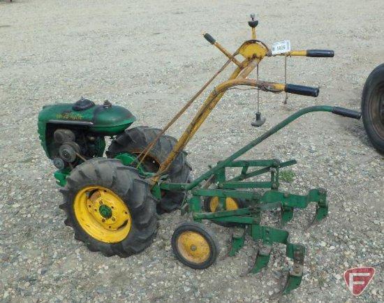 Walk Behind Tractor >> Bolens Vintage Super Versa Matic 2 Wheel Walk Behind Tractor With 1