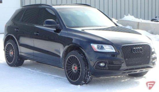 2013 Audi Q5 Multipurpose Vehicle (MPV), Black 6 Cylinder