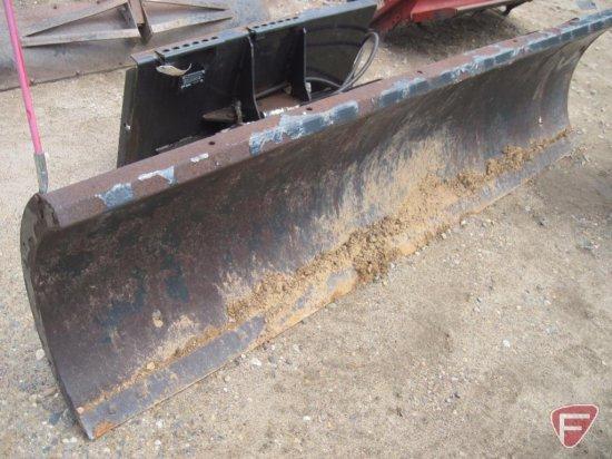 "Bobcat 96"" wide snow blade with hydraulic tilt, SN: 683803279"
