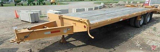 2007 Better Built Trailer 24ft x 8ft bed with 7ft ramps, VIN# 4mndp252071002464