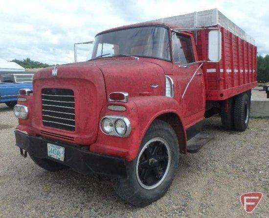 1961 International Harvester Bc170 series single axle grain truck, VIN # BC174FB22864F
