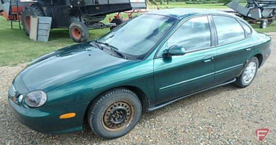 1999 Ford Taurus Passenger Car, VIN # 1fafp53u8xg327853