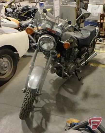 1982 Yamaha XV750 Virago Motorcycle, VIN # JYA4X7002CA212544