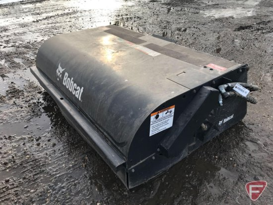 Bobcat sweeper bucket, 72 in., used very little