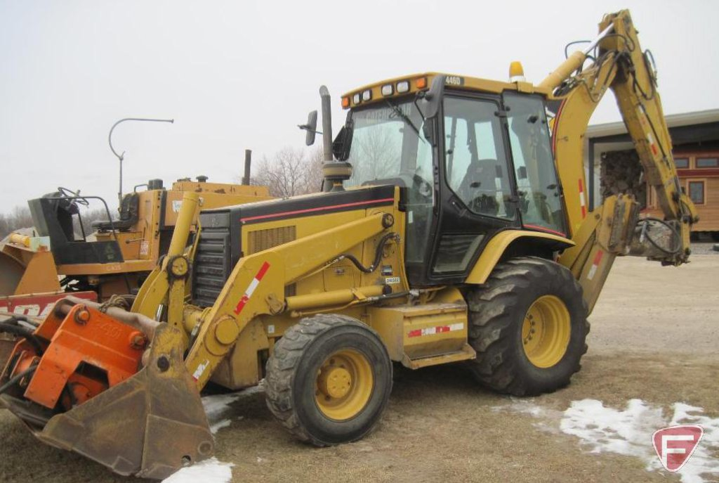 2006 CAT 446D Backhoe, SN: CAT0446DHDBL00680, with Caterpillar 3114 103HP engine, 6,692 hours