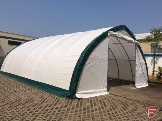 New 20'X30'X12' Peak Ceiling Storage Shelter/Building