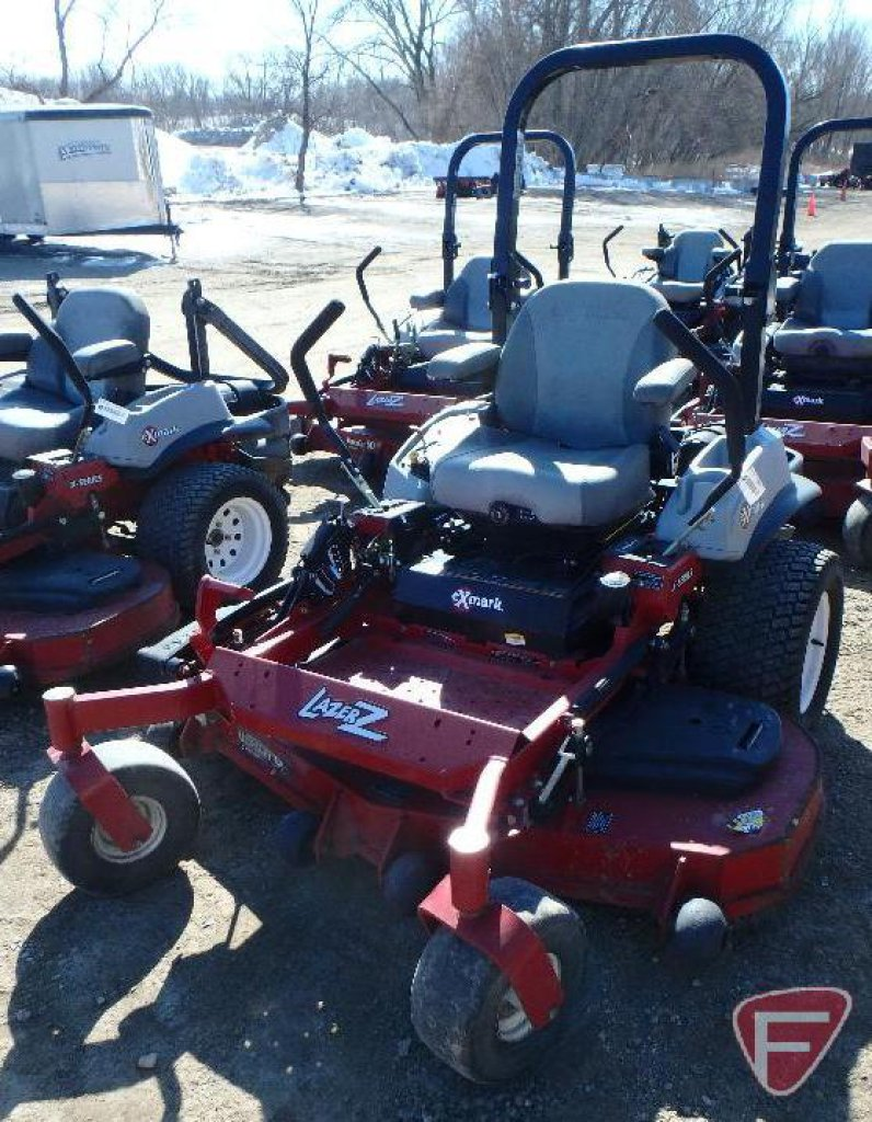 Lot: 2011 Exmark Lazer Z X series mid mount zero turn mower with 60
