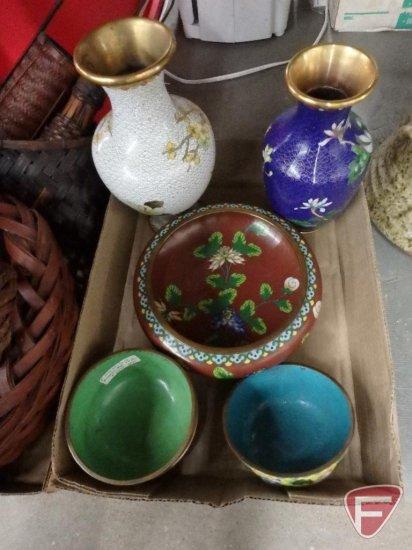 Cloisonne Bowls And Vases Auctions Online Proxibid
