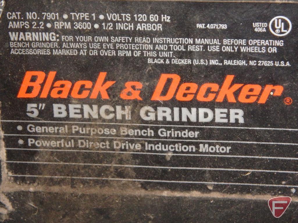 Wondrous Black Decker 5In Bench Grinder Estate Personal Machost Co Dining Chair Design Ideas Machostcouk