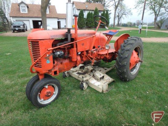 Case VAC tractor, sn VAC4828984