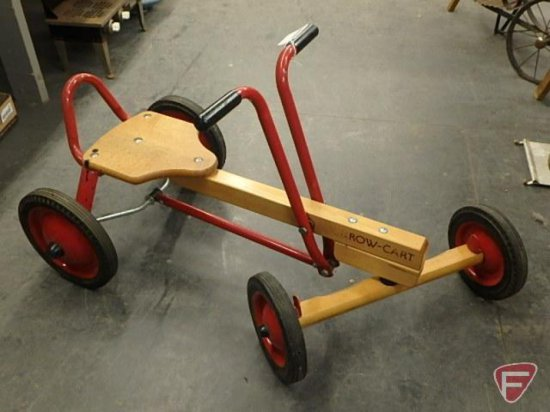 Radio Flyer Row Cart Wood And Auctions Online Proxibid