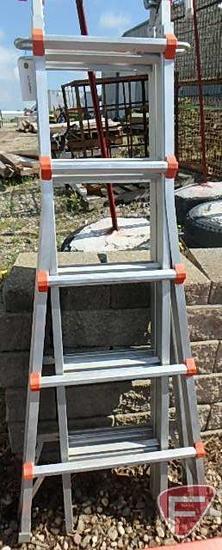 Little Giant M22 folding aluminum step ladder