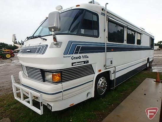1991 Foretravel Grand Villa Unihome U300 Recreational Vehicle, VIN # 1f97d4409mn054221